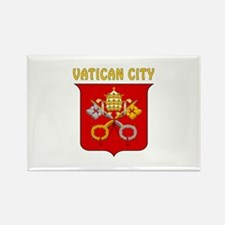 Vatican city Coat of arms Rectangle Magnet
