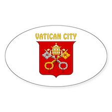 Vatican city Coat of arms Decal