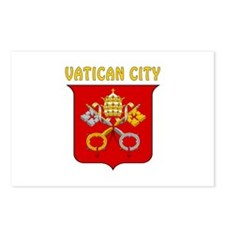 Vatican city Coat of arms Postcards (Package of 8)