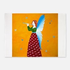 Butterfly Angel 5'x7'Area Rug