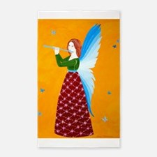 Butterfly Angel 3'x5' Area Rug