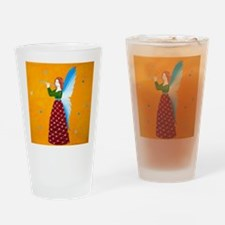 Butterfly Angel Drinking Glass