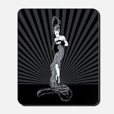 Art Deco Corset Glamour Mousepad
