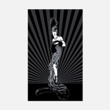 Art Deco Corset Glamour Decal