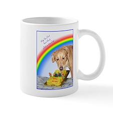 Golden Rainbow Birthday Mug