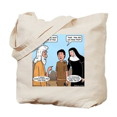 Son of Nun Tote Bag