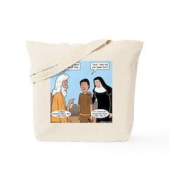 Son of Nun Tote Bag