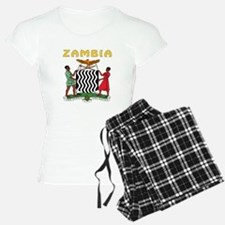 Zambia Coat of arms Pajamas
