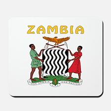Zambia Coat of arms Mousepad