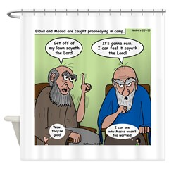 The Dads Shower Curtain