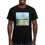 Seven Shepherds Men's Fitted T-Shirt (dark)