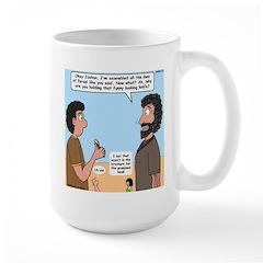 Joshua's Scalpel Large Mug