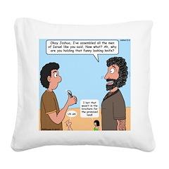 Joshua's Scalpel Square Canvas Pillow