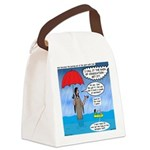 When it Rains it Pours Canvas Lunch Bag