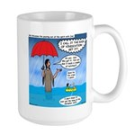 When it Rains it Pours Large Mug