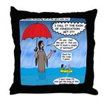 When it Rains it Pours Throw Pillow