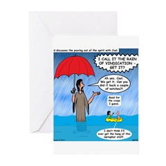 When it Rains it Pours Greeting Cards (Pk of 20)