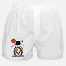 Decisions-Decisions-Groundhog Day Boxer Shorts