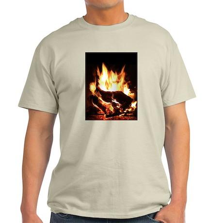 Fireplace Flames Light T-Shirt