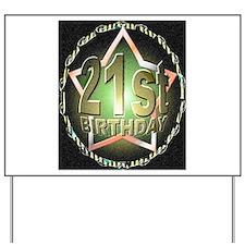 21st birthday celebration art illustration Yard Si