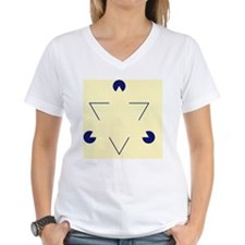 Kanizsa triangle - Shirt