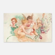 Cupid Angel II 3'x5' Area Rug