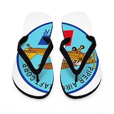 Piper Aircraft Corporation Abzeichen Flip Flops