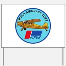 Piper Aircraft Corporation Abzeichen Yard Sign