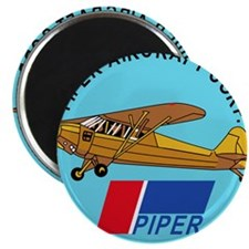 "Piper Aircraft Corporation Abzeichen 2.25"" Magnet"