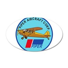 Piper Aircraft Corporation Abzeichen Wall Decal