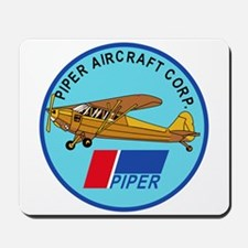 Piper Aircraft Corporation Abzeichen Mousepad