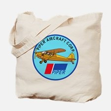Piper Aircraft Corporation Abzeichen Tote Bag