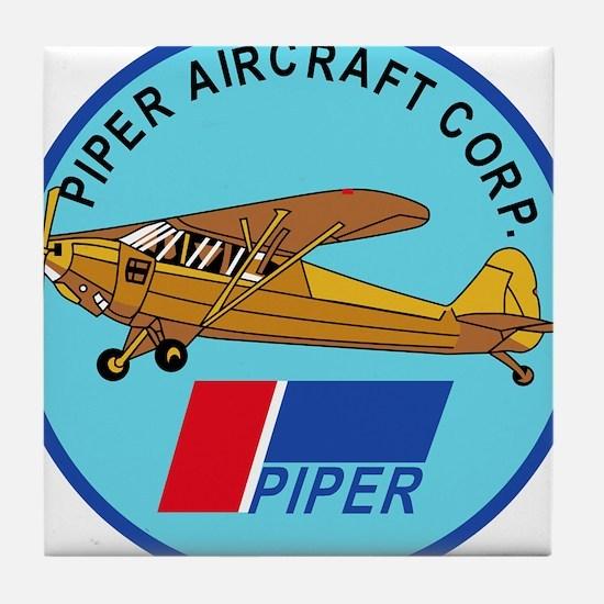 Piper Aircraft Corporation Abzeichen Tile Coaster