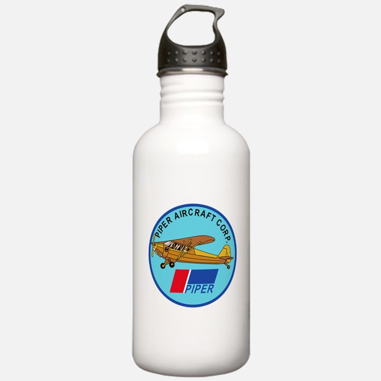 Piper Aircraft Corporation Abzeichen Water Bottle