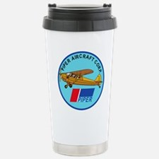 Piper Aircraft Corporation Abzeichen Travel Mug