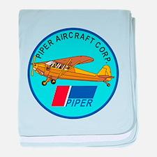 Piper Aircraft Corporation Abzeichen baby blanket