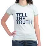 TELL THE TRUTH Jr. Ringer T-Shirt