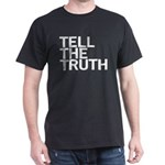 TELL THE TRUTH Black T-Shirt