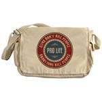 Abortions Kill People Messenger Bag