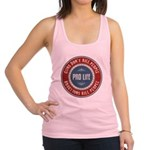Abortions Kill People Racerback Tank Top