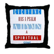 Everyone has a psalm, a hymn, a spiritual song Thr