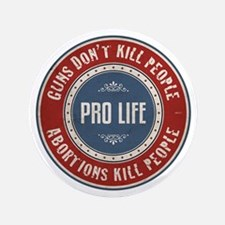 """Abortions Kill People 3.5"""" Button"""