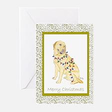 Labrador Retriever Yellow Lab Christmas Cards