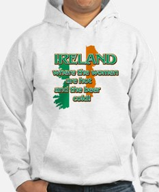Map of Ireland St Patrick's day designs Hoodie