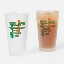 Map of Ireland St Patrick's day designs Drinking G