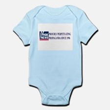 fox news propaganda Infant Bodysuit