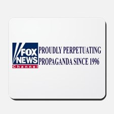 fox news propaganda Mousepad