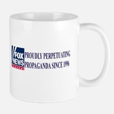 fox news propaganda Mug