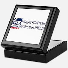 fox news propaganda Keepsake Box