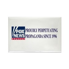 fox news channel propaganda Rectangle Magnet